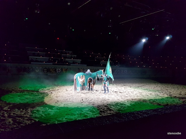 Medieval Times green knight