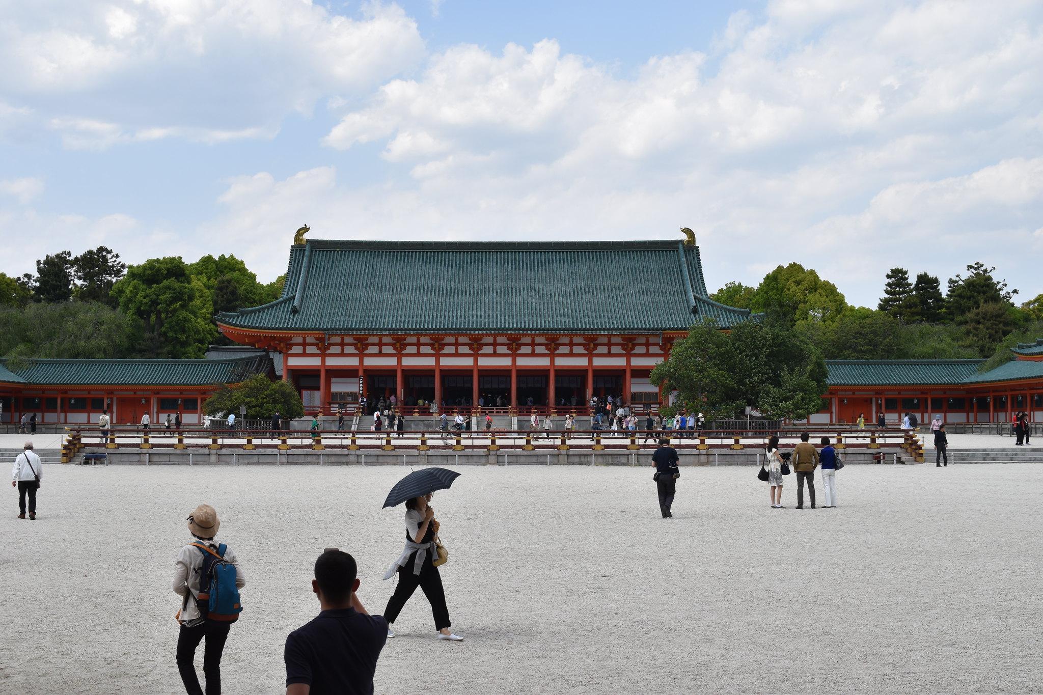平安神宮(Heianjingu-shrine)