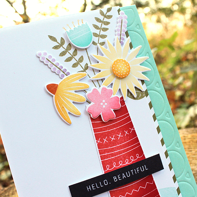 Hello Beautiful Card 2
