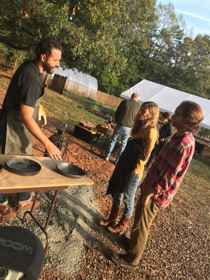 3rd Annual Virginia Wine Dinner at Caromont Farm