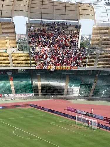 Benevento - Away supporters