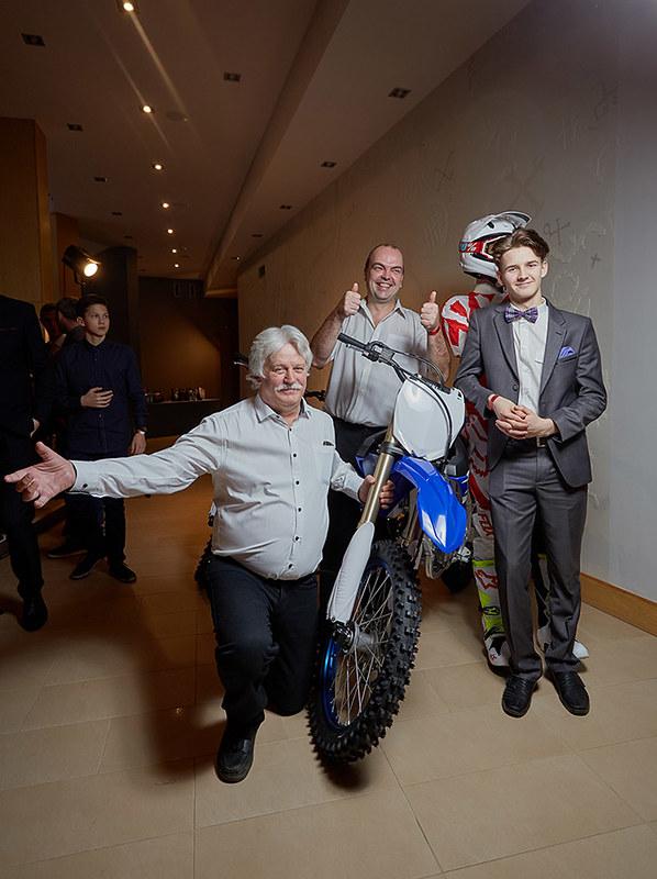 2017. gada motokrosa laureātu apbalvošanas ceremonija