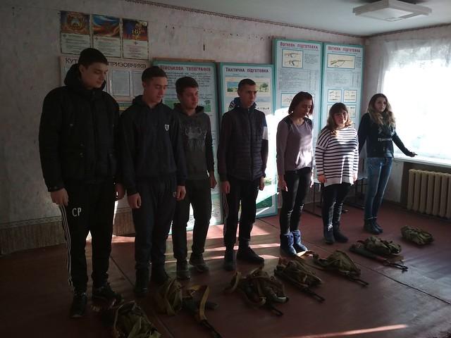 Військова підготовка до Дня збройних сил України