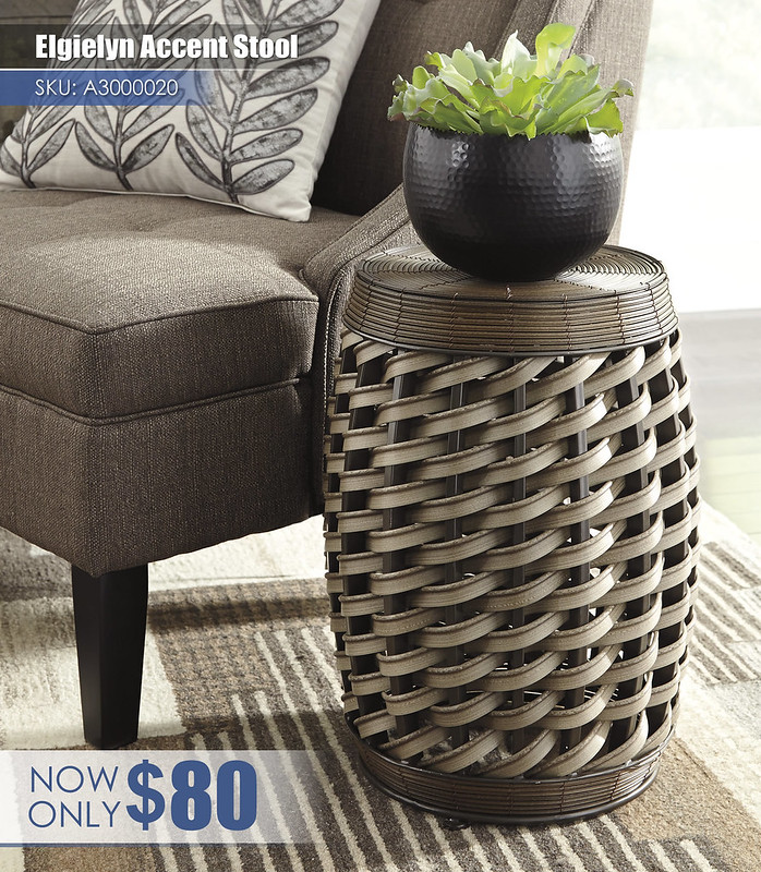A3000020 - Elgielyn Stool $80