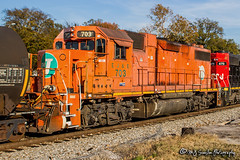 EJE 703 | EMD GP38-2 | NS Memphis District