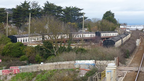 Camping Coaches at Dawlish Warren on 'Dennis Basfords railsroadsrunways.blogspot.co.uk'