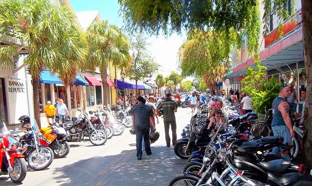 Bike Weekend. Key West 2011