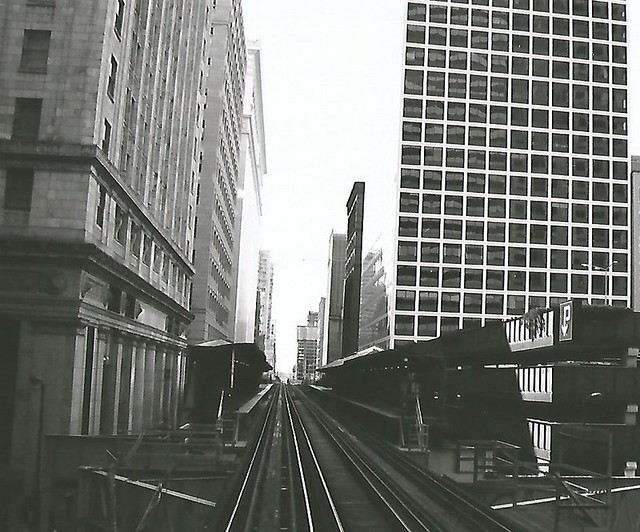 Wells Street 'L', Chicago Loop