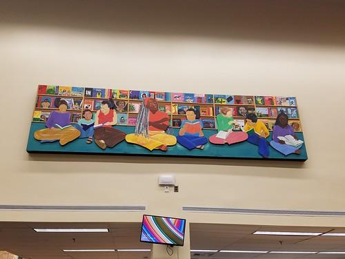 Juanita Thornton Library Mural