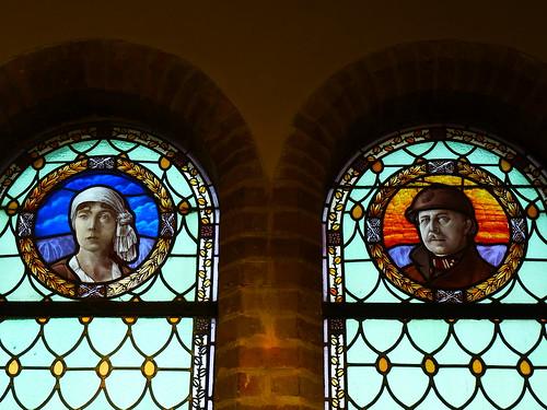 La reine Elizabeth et le roi Albert I