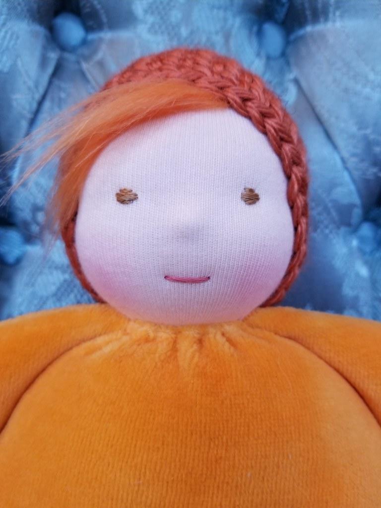 Snuggle Baby #38 - Tangerine