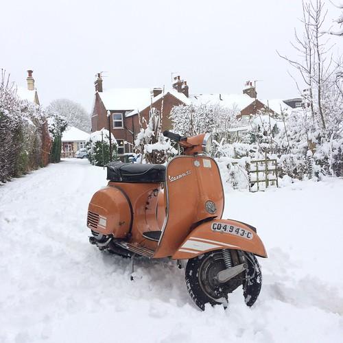 Snow go..