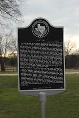 Justin, Texas Historical Marker