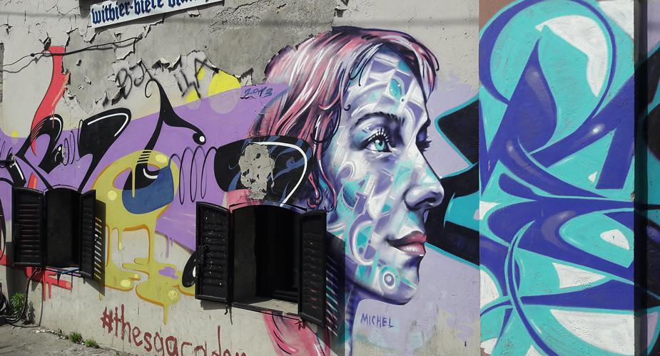 Street art in Belgrado: Savamala | Mooistestedentrips.nl