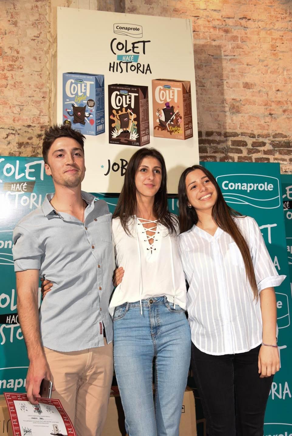 """Estudiantes ganaron el concurso """"Diseñá tu Colet"""""""