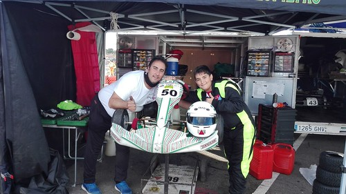 Juan Antonio Tapia subcampeón de karting