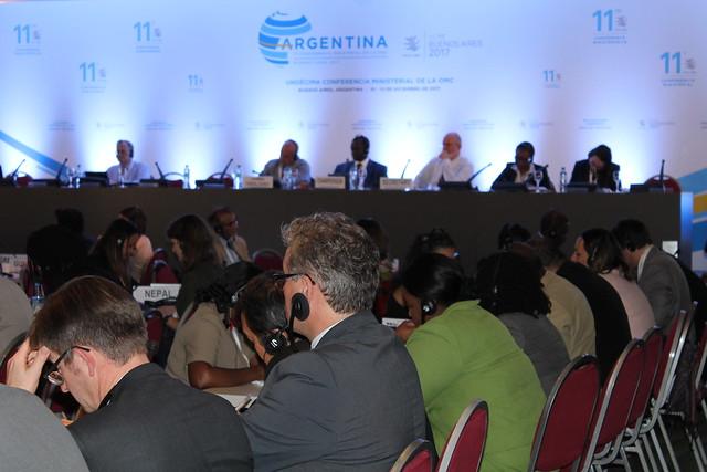 Reuniones: Comercio Electrónico, MIPYMES, CAIRNS, Facilitación, Ministerial, Bilaterales OMC Buenos Aires 2017