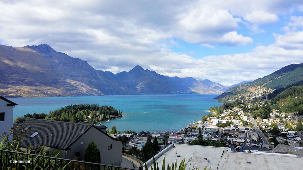 Näkymä Queenstowniin, Uusi-Seelanti