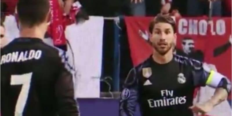 Ronaldo dan Ramos Berselisih Pendapat Tentang Performa Real Madrid