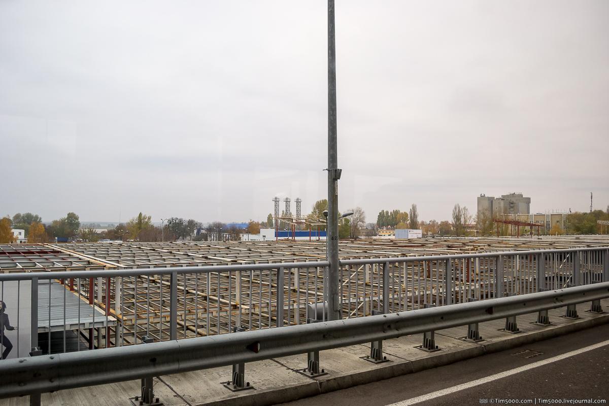 Паркинг в аэропорту Борисполь достраивают!