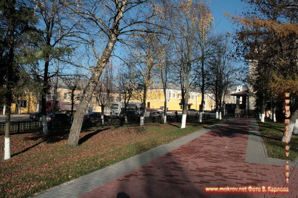 Город Чехов фотозарисовки