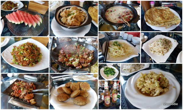 Chinese local dishes