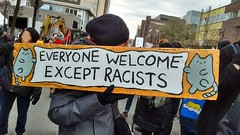 Welcome everyone but racists
