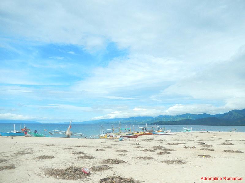 Mararison Island sandbar
