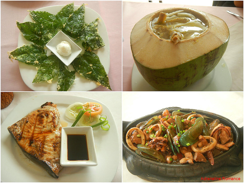Delicious food from Kanyogan Garden Restaurant