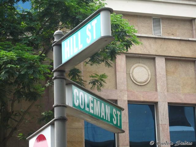 Hill Street & Coleman Street 01
