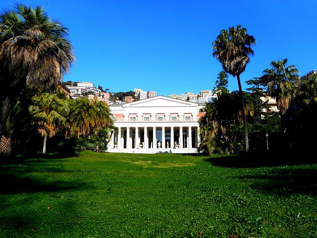 Villa / Museum Pignatelli in Naples (1826) - Architects Pietro Valente and Guglielmo Bechi