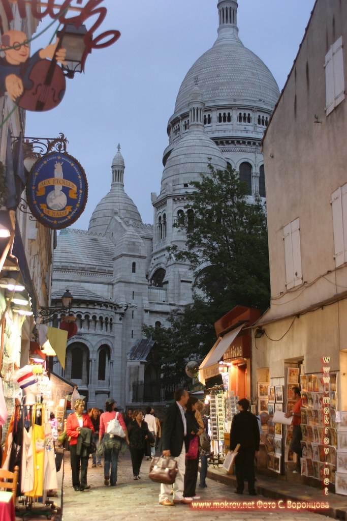 Исторический центр Парижа фотографии сделанные как днем, так и вечером