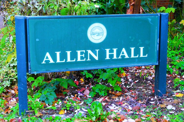 Header of Allen Hall