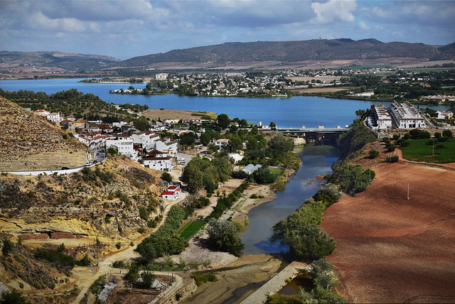 View of the Guadalete River, Arcos de la Frontera