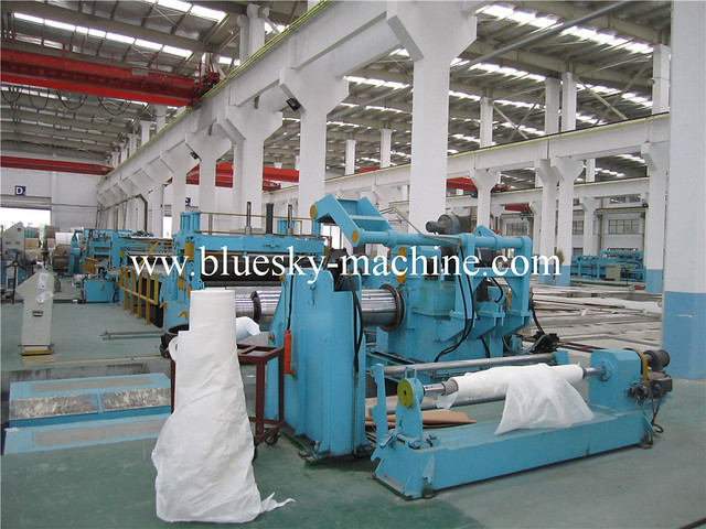 slitting machine process