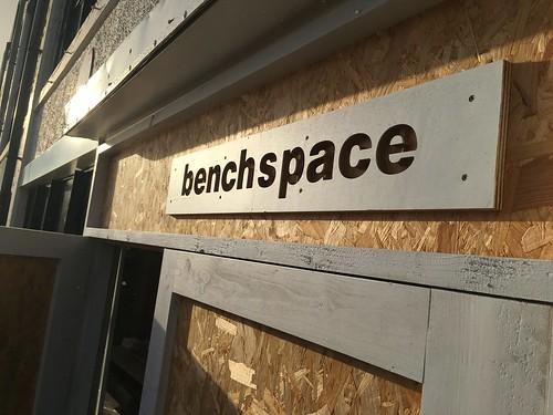 Saturday workshop at Benchspace at the Cork city Marina.