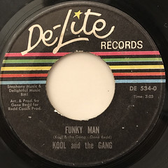 KOOL AND THE GANG:FUNKY MAN(LABEL SIDE-A)