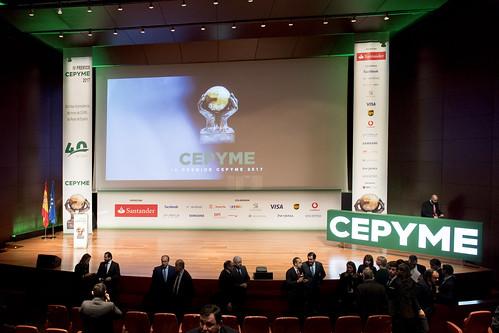 IV Premios CEPYME 2017