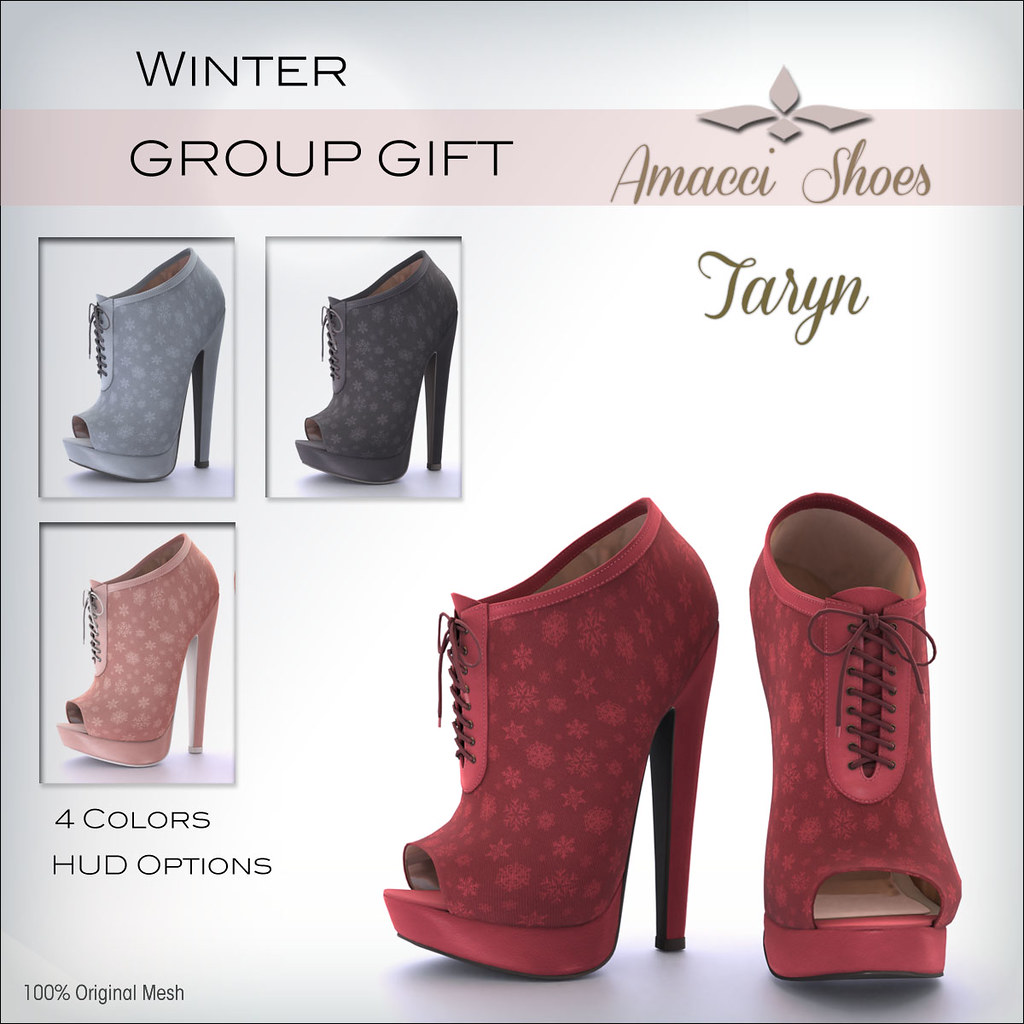 Amacci Gift - Taryn Shoes Winter - TeleportHub.com Live!