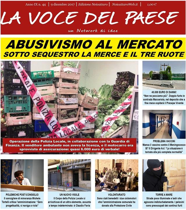 Noicattaro. Prima pagina n. 44-2017 intero