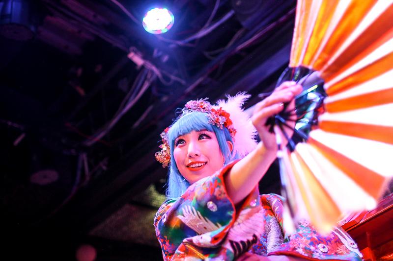 Dancer at Robot Restaurant