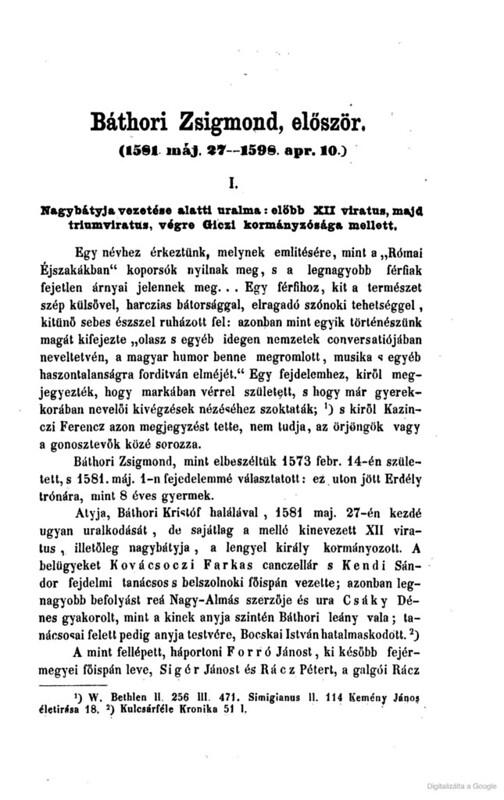 Bathory Zsigmond