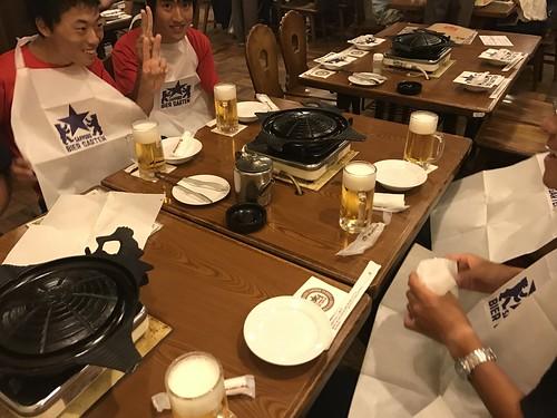 他の班とも合流して札幌ビール園で優勝🍻
