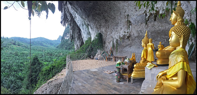 Tham Paya Nakarat Temple in Phang Nga