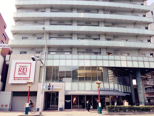 【神戶住宿推薦】神戶元町東急REI飯店, 舒適平價近神戶景點