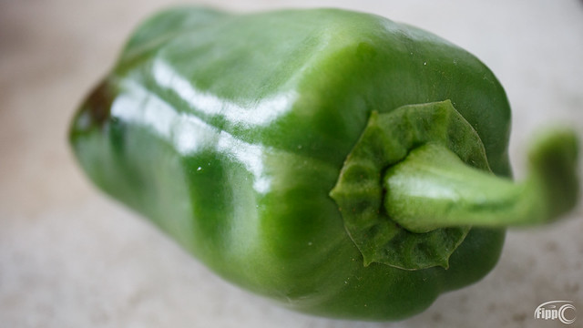 The last moments of the famous green pepper