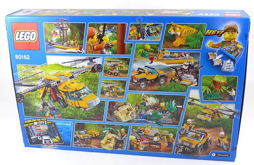 LEGO City Jungle 60162 Jungle Air Drop Helicopter 002