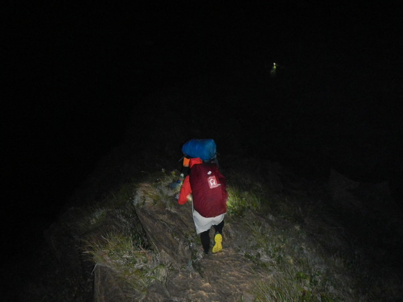 Navigating a knife edge in the dark