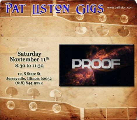 Pat Liston 11-11-17