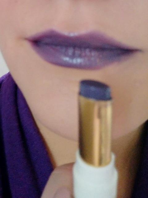 Candy Split Lipstick Violet Glaze 1